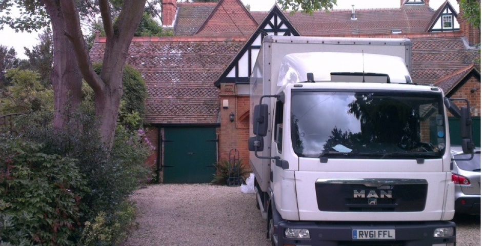 North London Removals Van